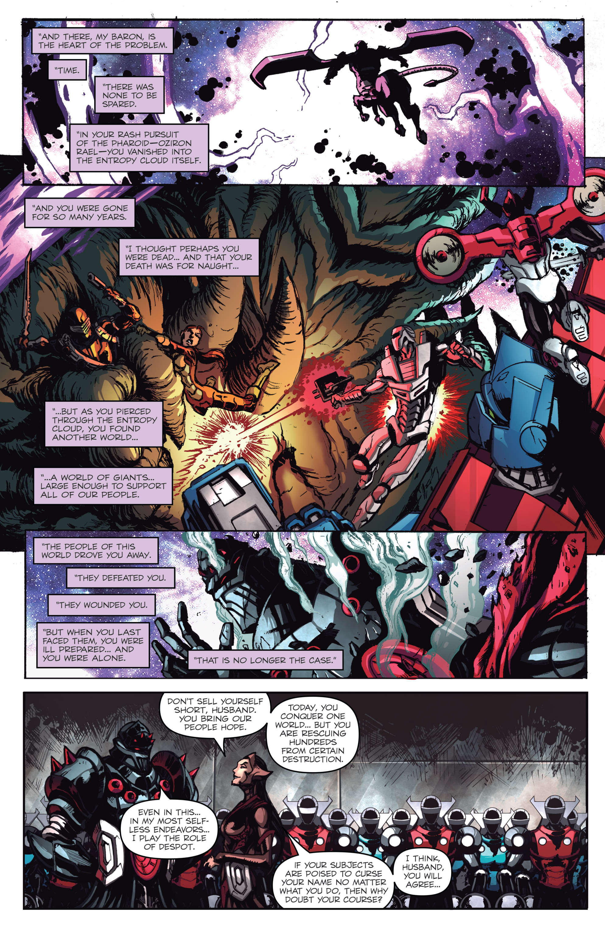 Read online Micronauts: Wrath of Karza comic -  Issue #1 - 9