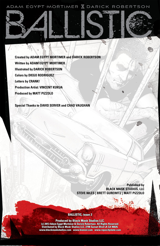 Read online Ballistic (2013) comic -  Issue #2 - 2