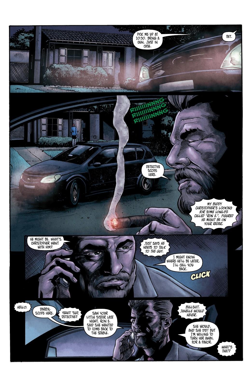 Read online Vindication comic -  Issue #2 - 16