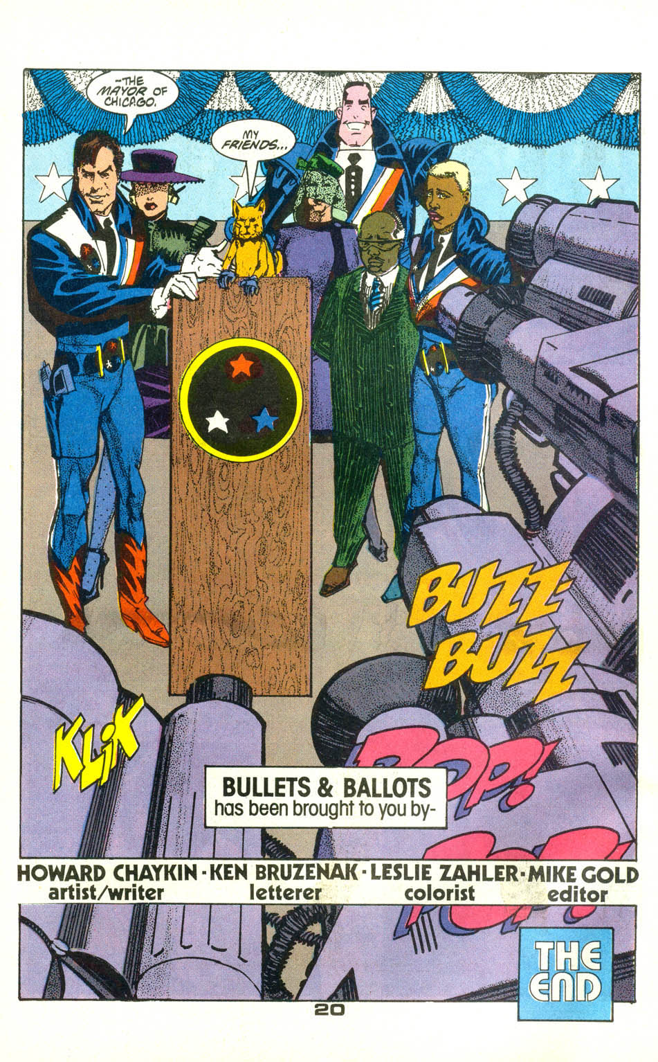 Read online American Flagg! comic -  Issue #22 - 22