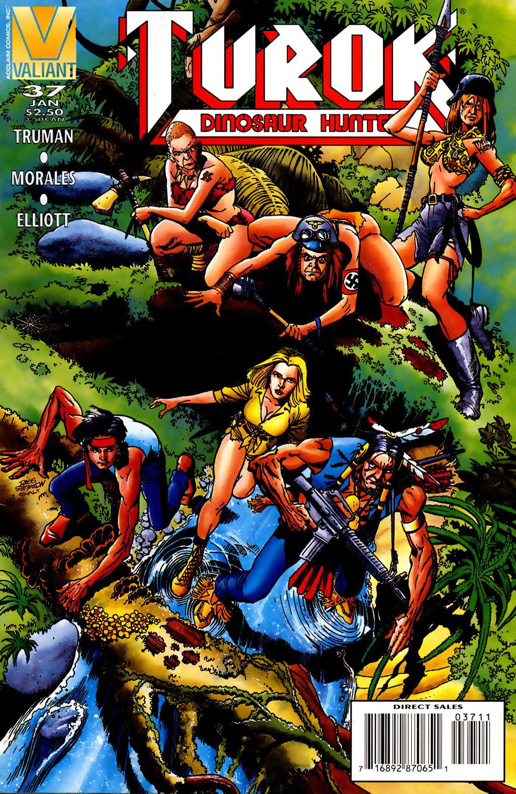 Read online Turok, Dinosaur Hunter (1993) comic -  Issue #37 - 1