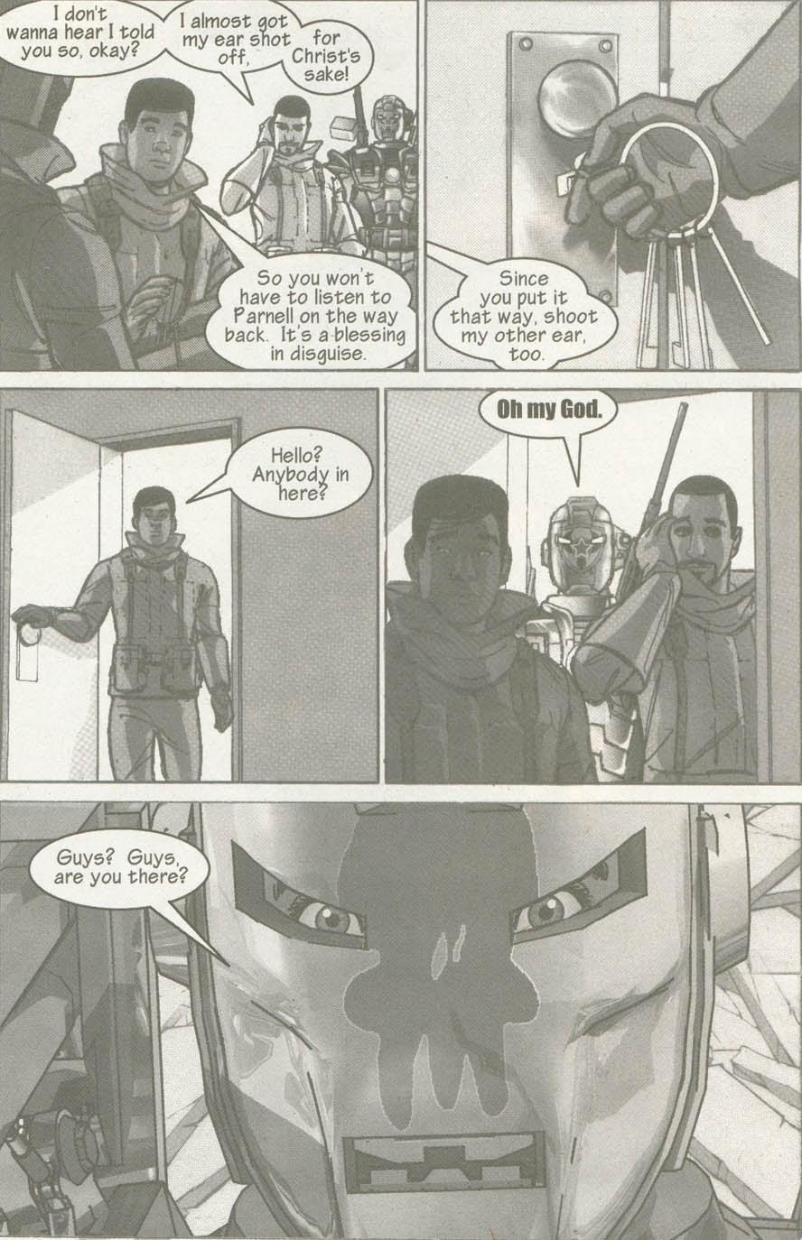 Read online U.S. War Machine comic -  Issue #6 - 26
