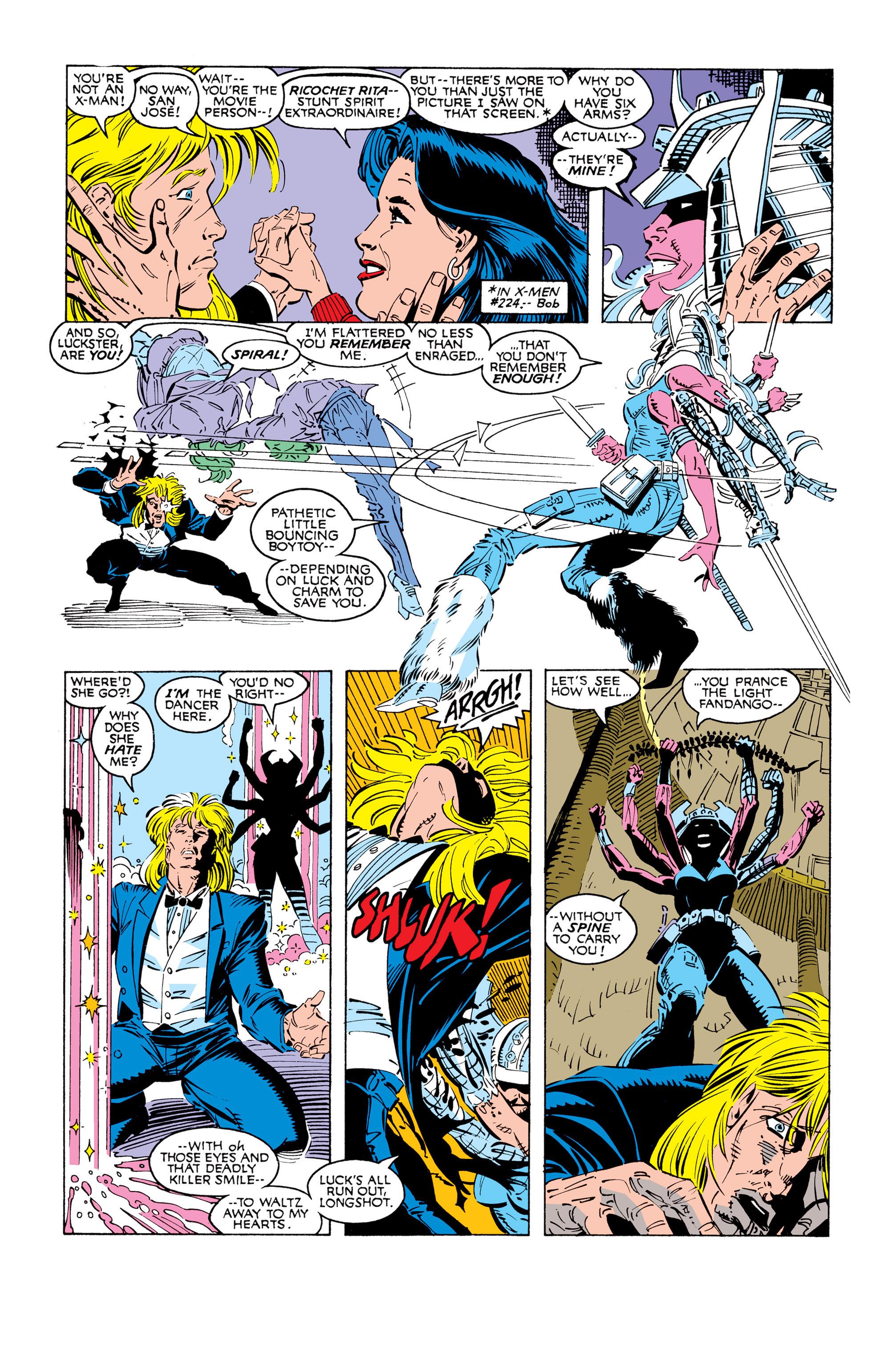 Read online Uncanny X-Men (1963) comic -  Issue #248 - 5