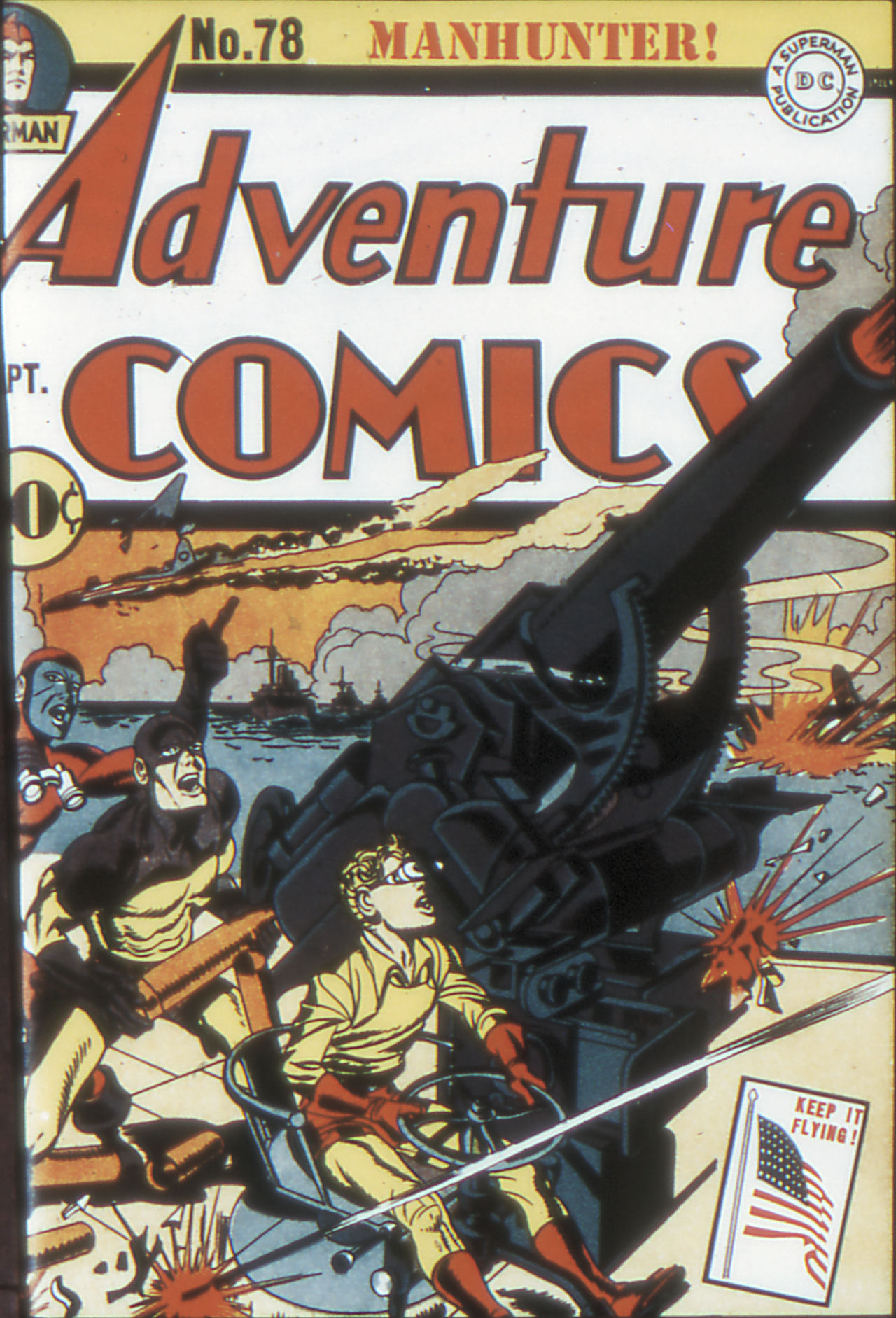 Read online Adventure Comics (1938) comic -  Issue #78 - 1