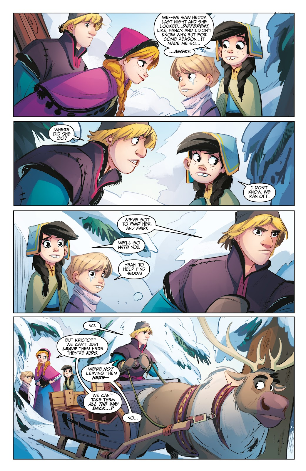 Read online Disney Frozen: The Hero Within comic -  Issue #2 - 14