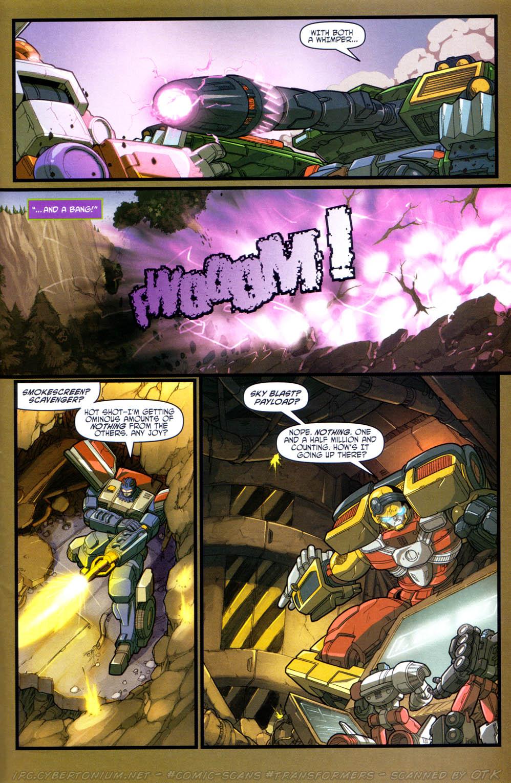 Read online Transformers Armada comic -  Issue #15 - 18