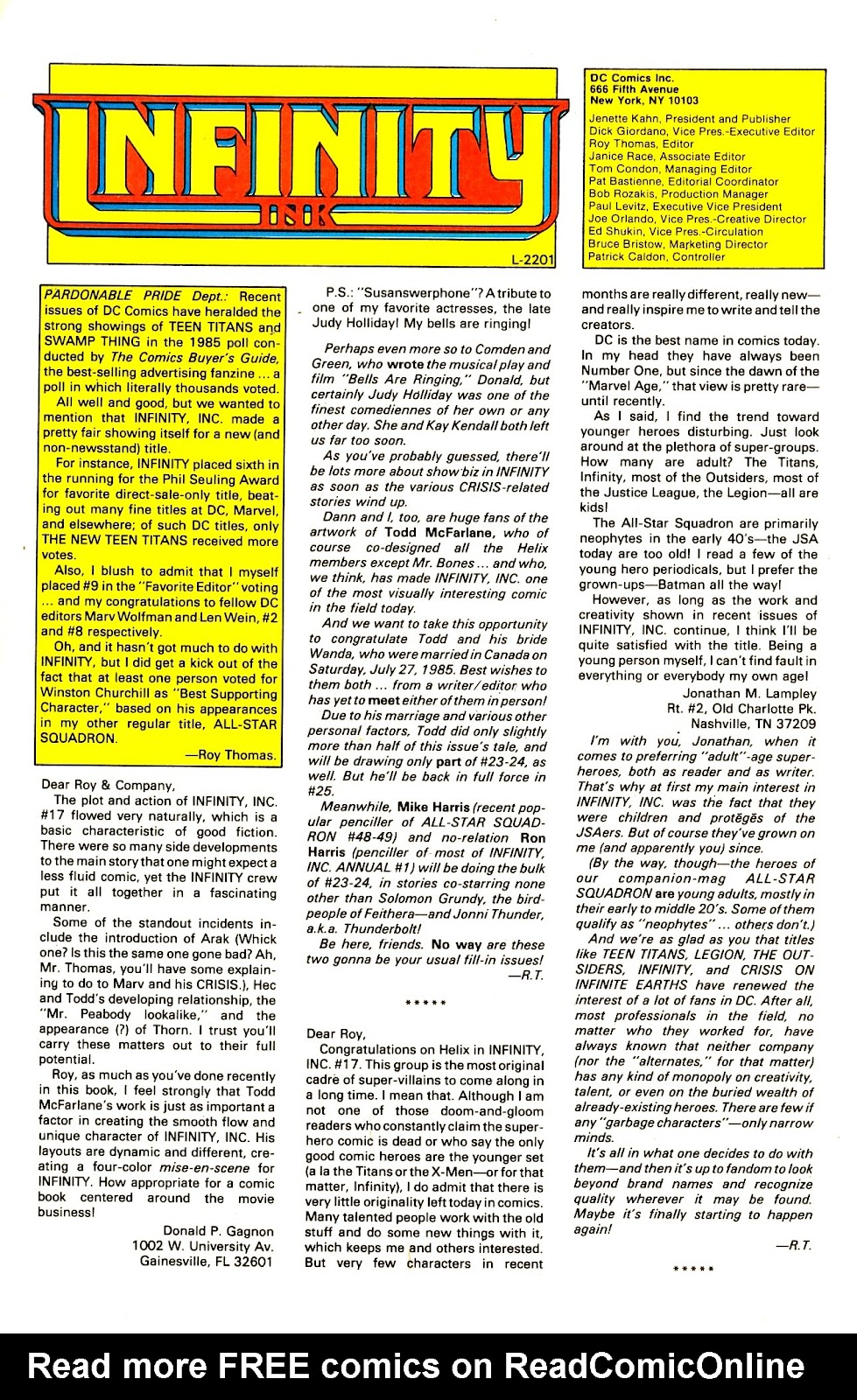 Infinity Inc. (1984) issue 22 - Page 32