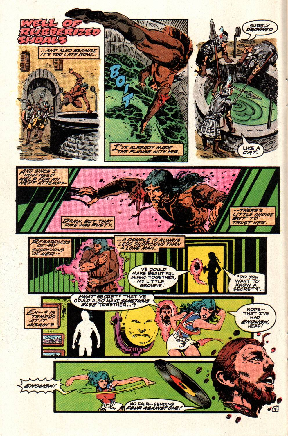 Read online Aztec Ace comic -  Issue #8 - 6