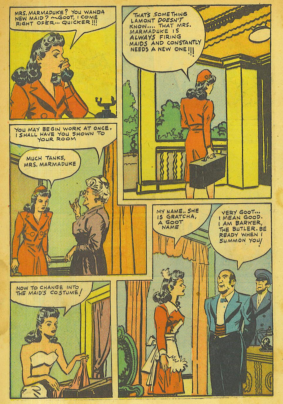 Read online Shadow Comics comic -  Issue #63 - 4