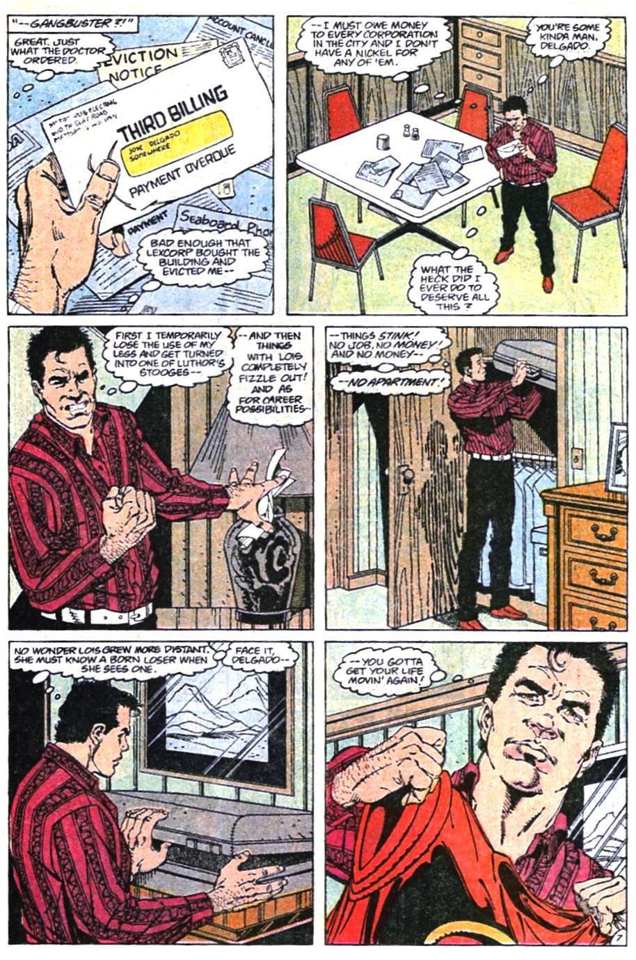 Read online Adventures of Superman (1987) comic -  Issue #465 - 8