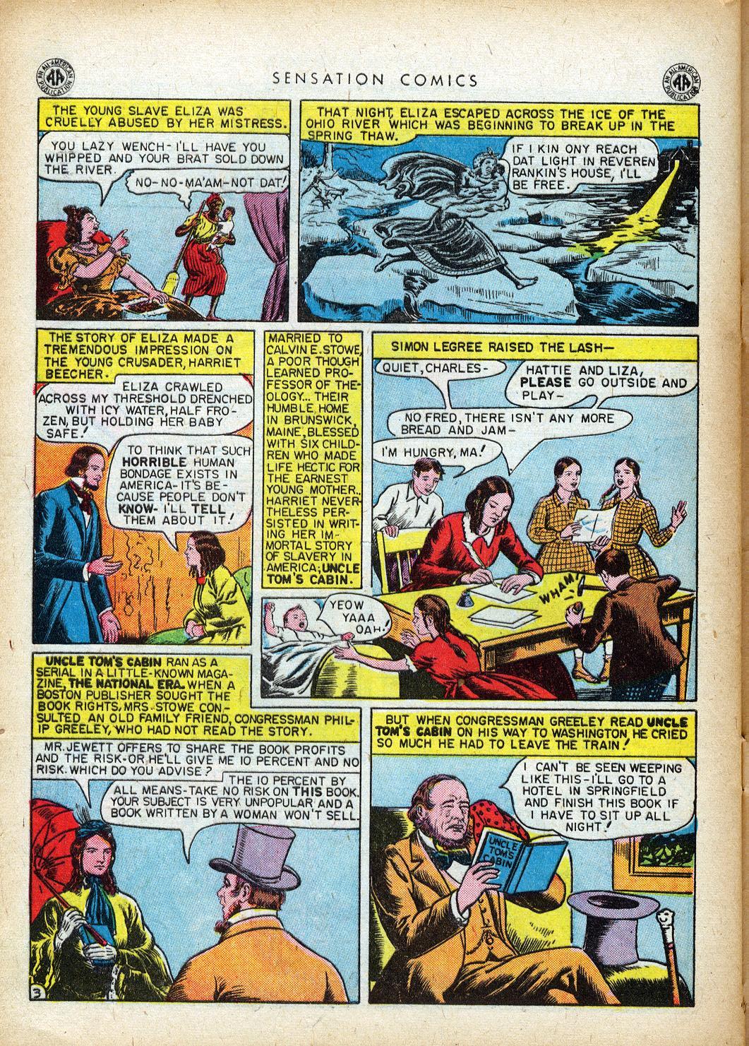 Read online Sensation (Mystery) Comics comic -  Issue #40 - 40