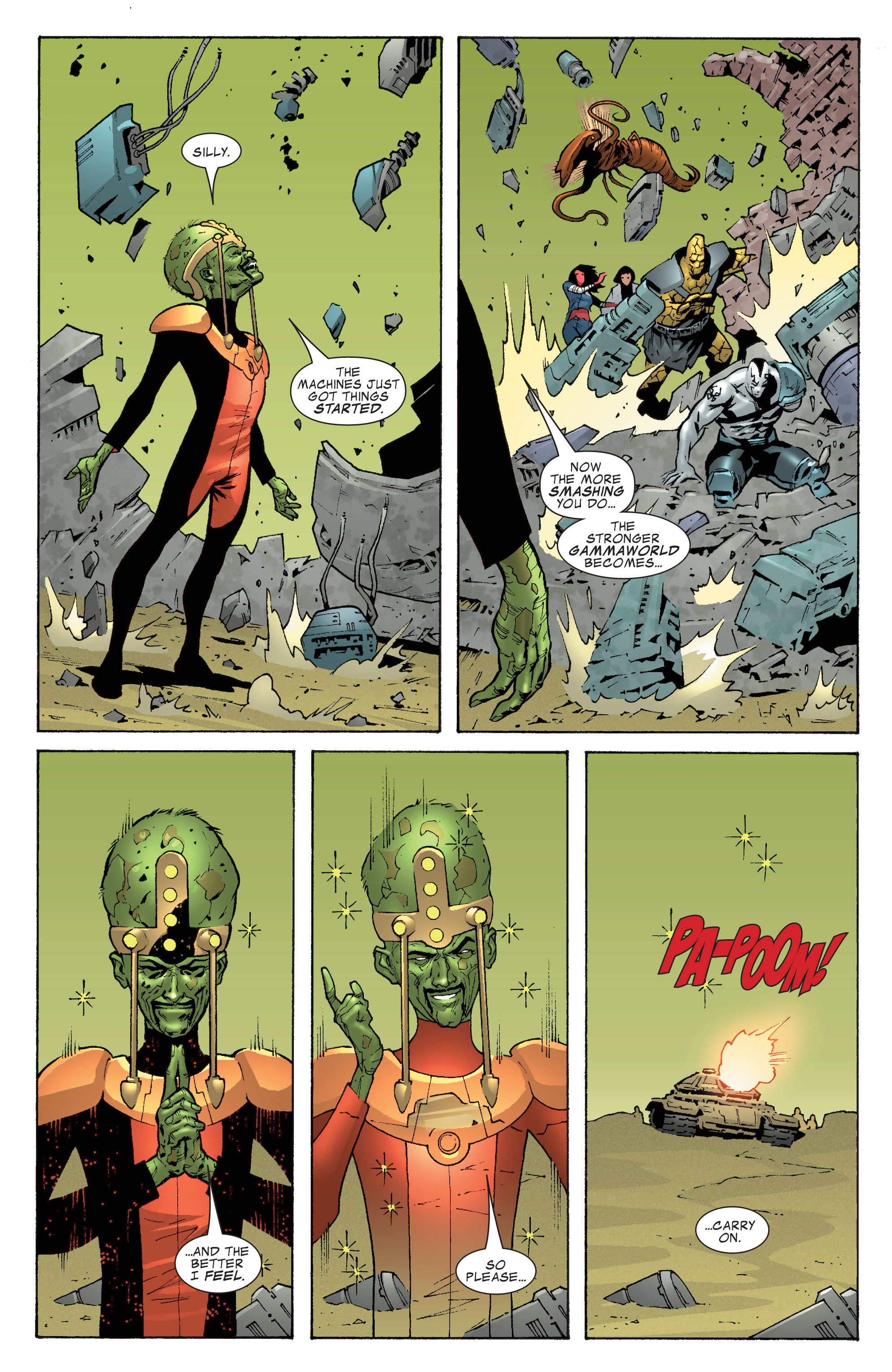 Read online World War Hulk Aftersmash: Warbound, Vol. 1 comic -  Issue #2 - 7