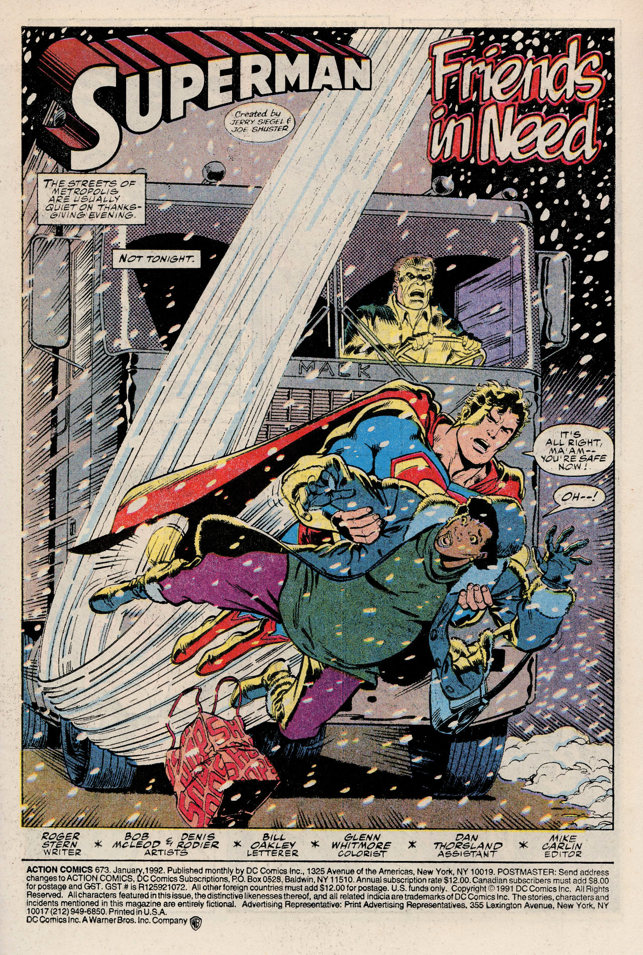 Read online Action Comics (1938) comic -  Issue #673 - 3