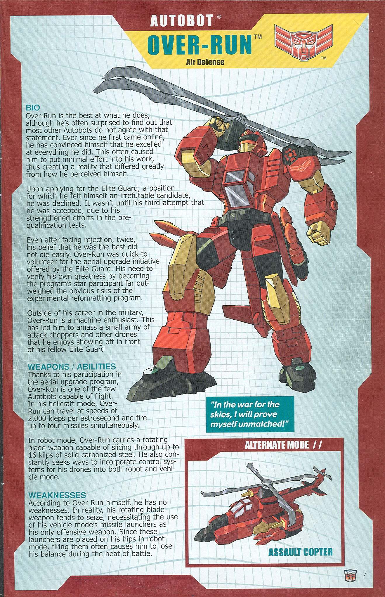 Read online Transformers: Collectors' Club comic -  Issue #32 - 7