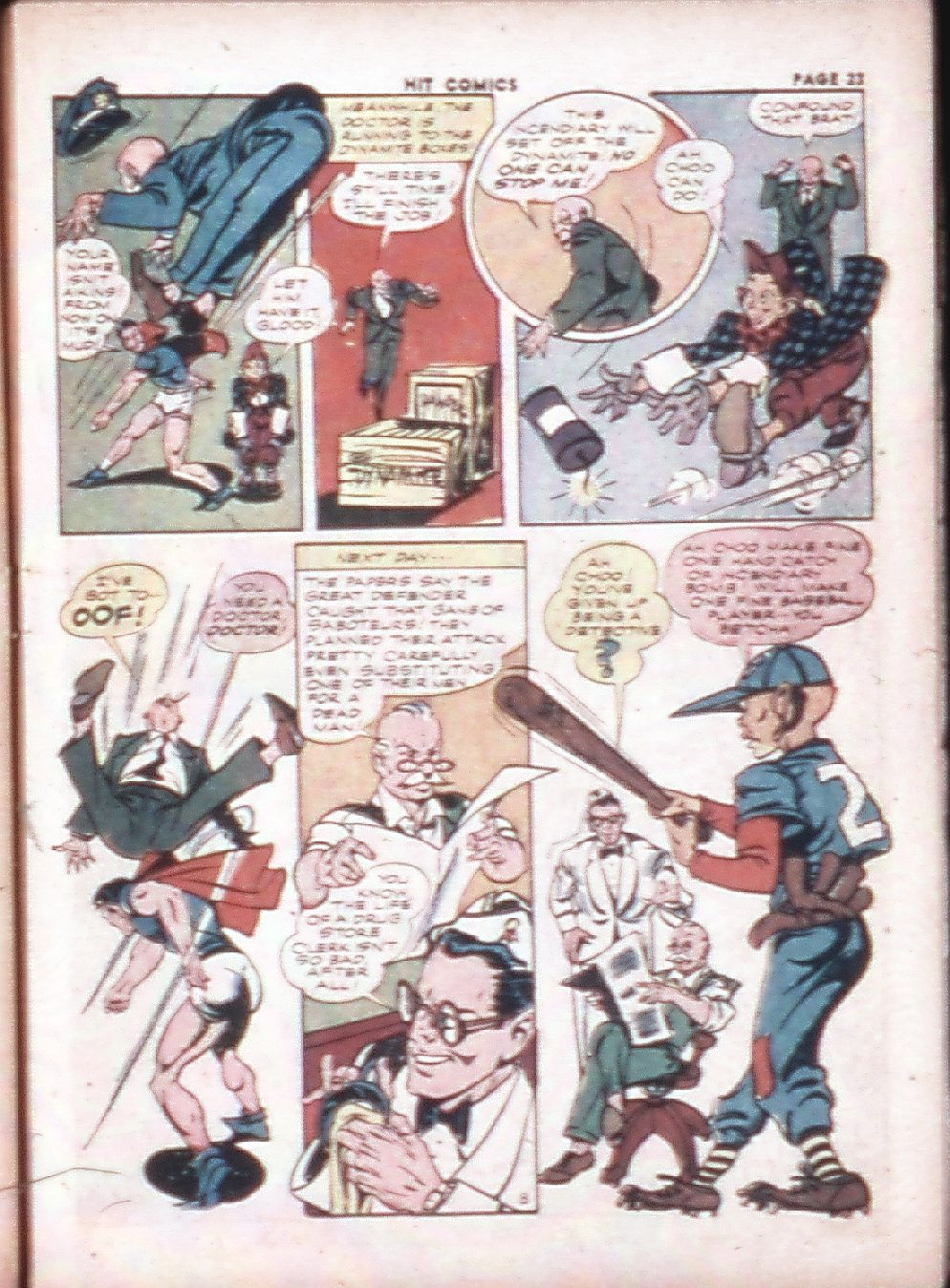 Read online Hit Comics comic -  Issue #29 - 25