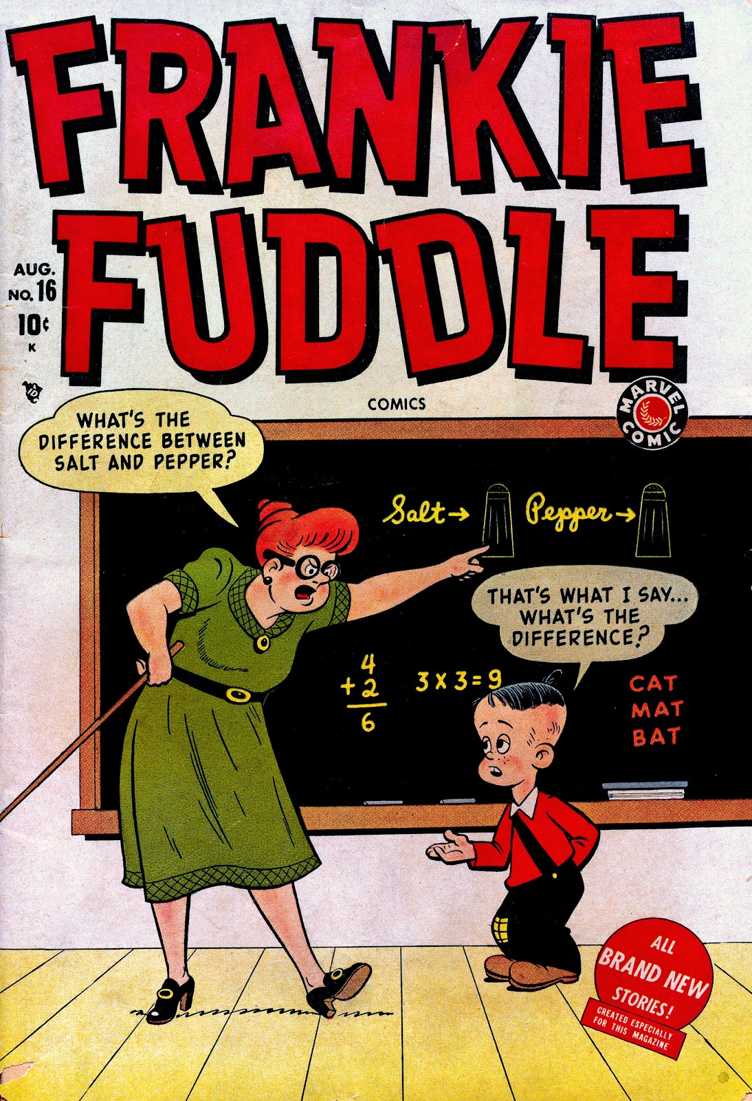Frankie Fuddle issue 16 - Page 1