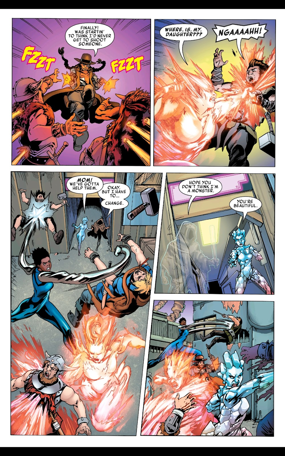 Read online Fantastic Four 2099 (2019) comic -  Issue # Full - 25