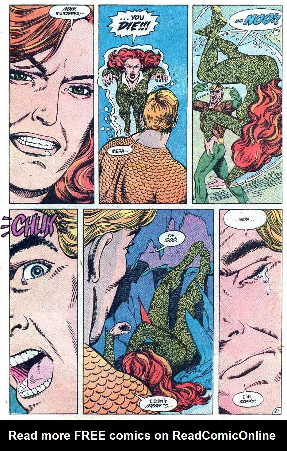 Read online Aquaman (1989) comic -  Issue #3 - 22