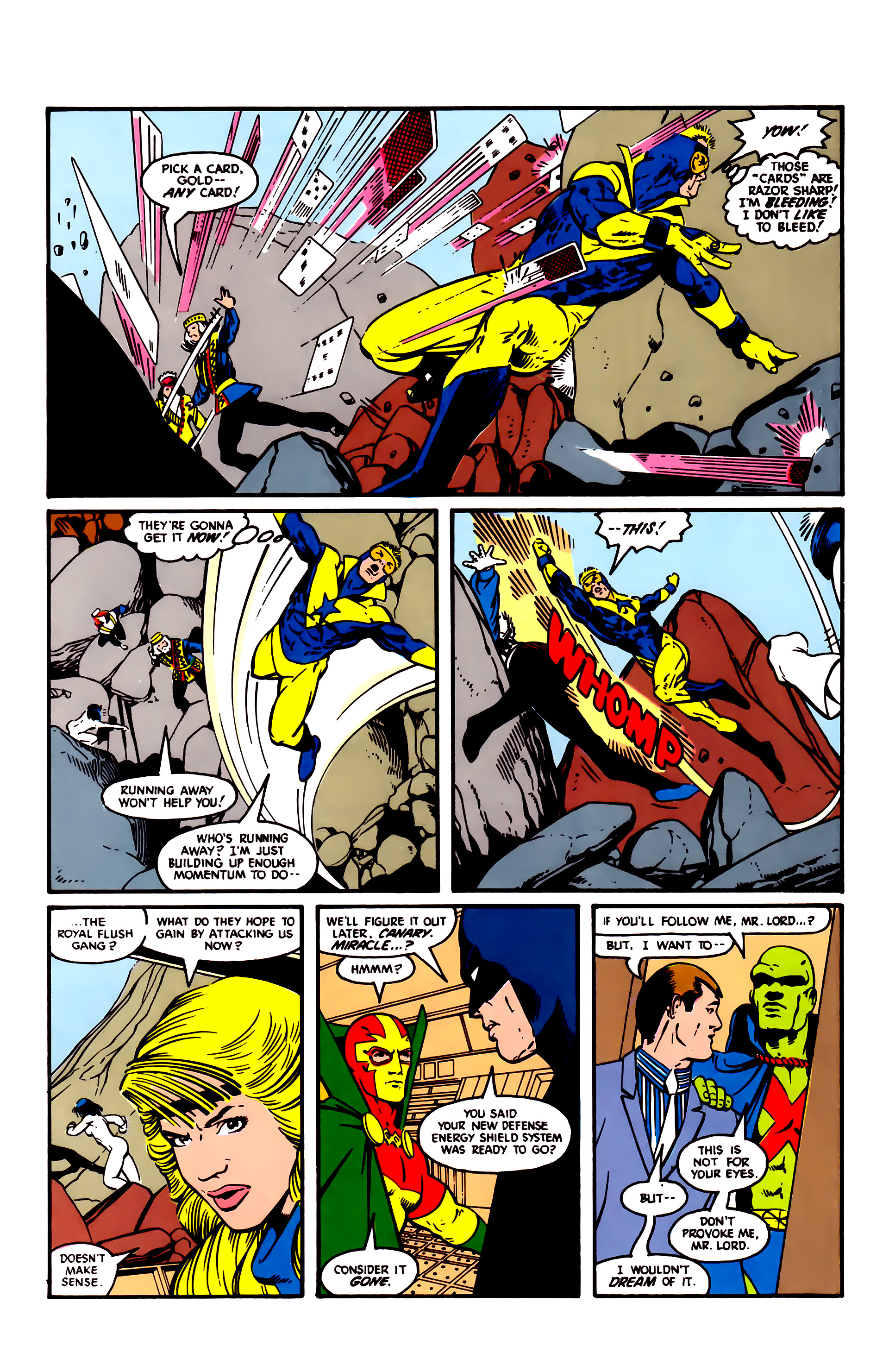 Read online Justice League (1987) comic -  Issue #4 - 10