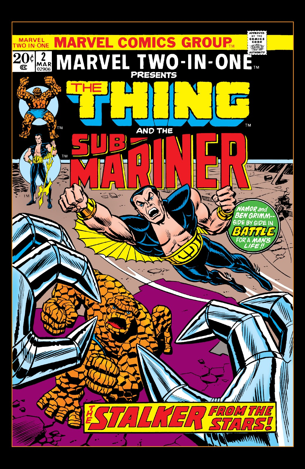 Read online Marvel Two-In-One Epic Collection: Cry Monster comic -  Issue # TPB (Part 1) - 65