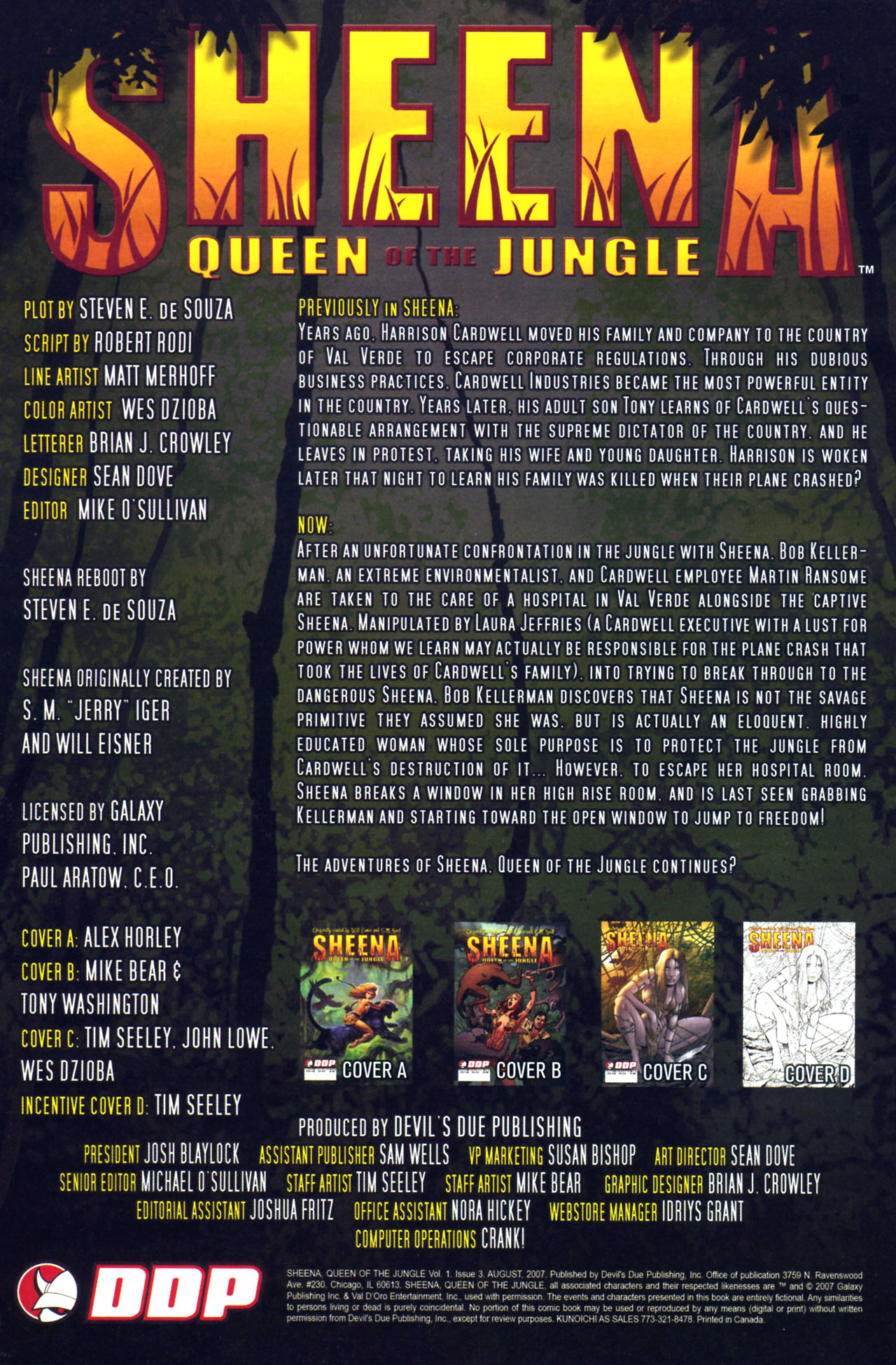 Read online Sheena, Queen of the Jungle comic -  Issue #3 - 2