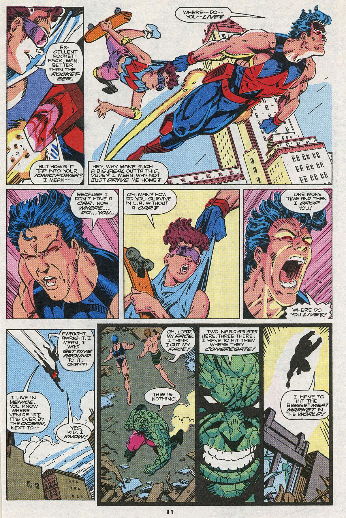 Read online Wonder Man (1991) comic -  Issue #3 - 10