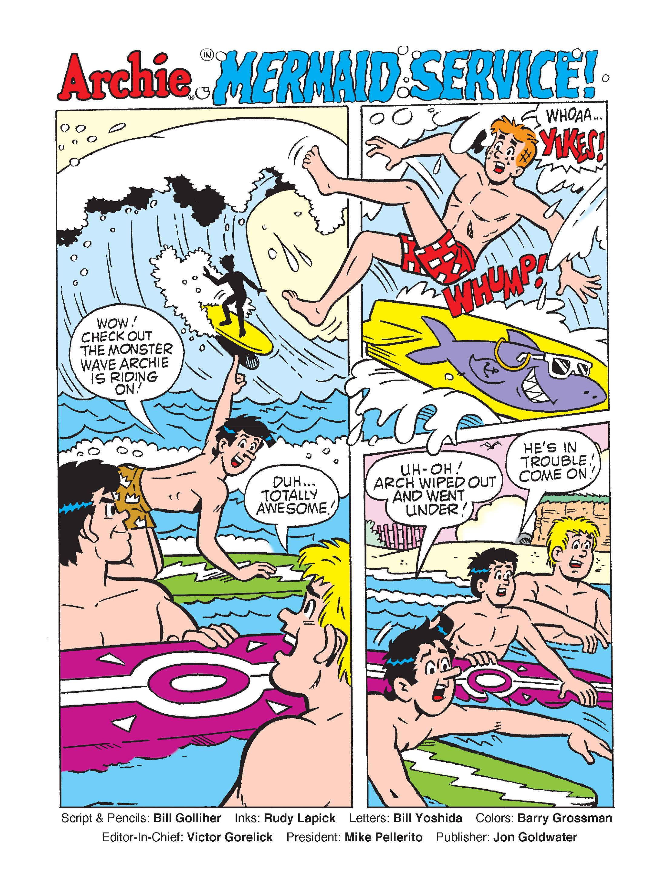 Read online Archie's Funhouse Double Digest comic -  Issue #7 - 2