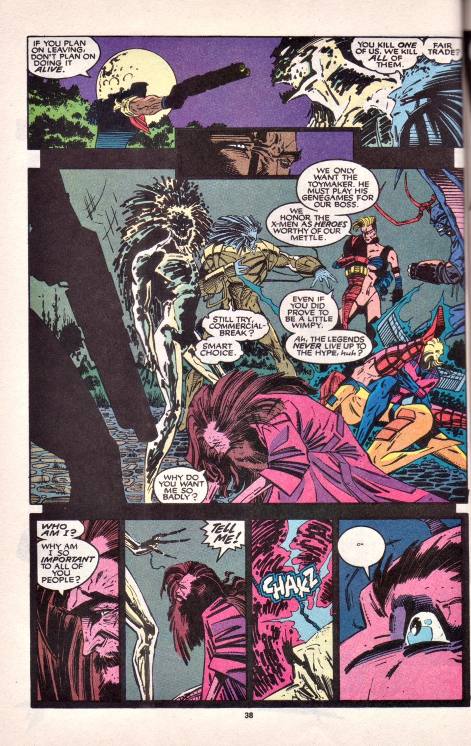 Read online Uncanny X-Men (1963) comic -  Issue # _Annual 16 - 31