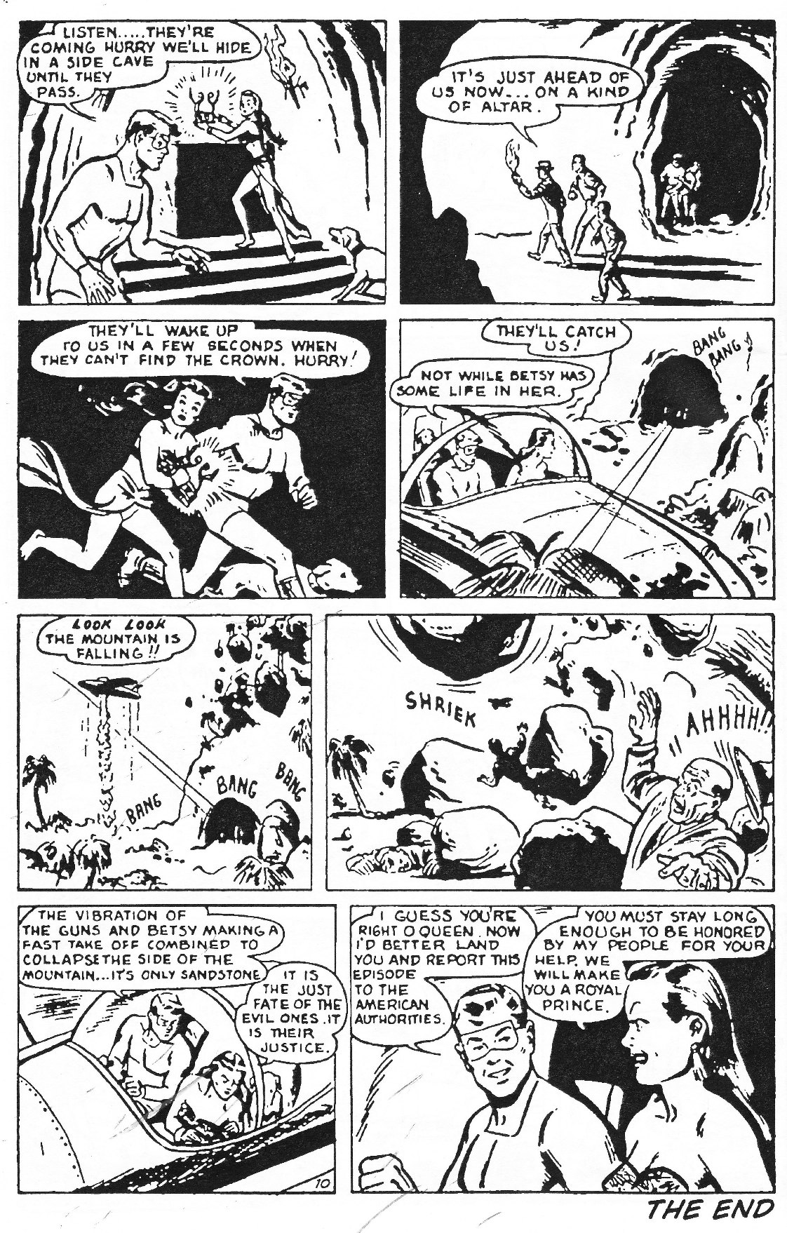 Read online Men of Mystery Comics comic -  Issue #62 - 36