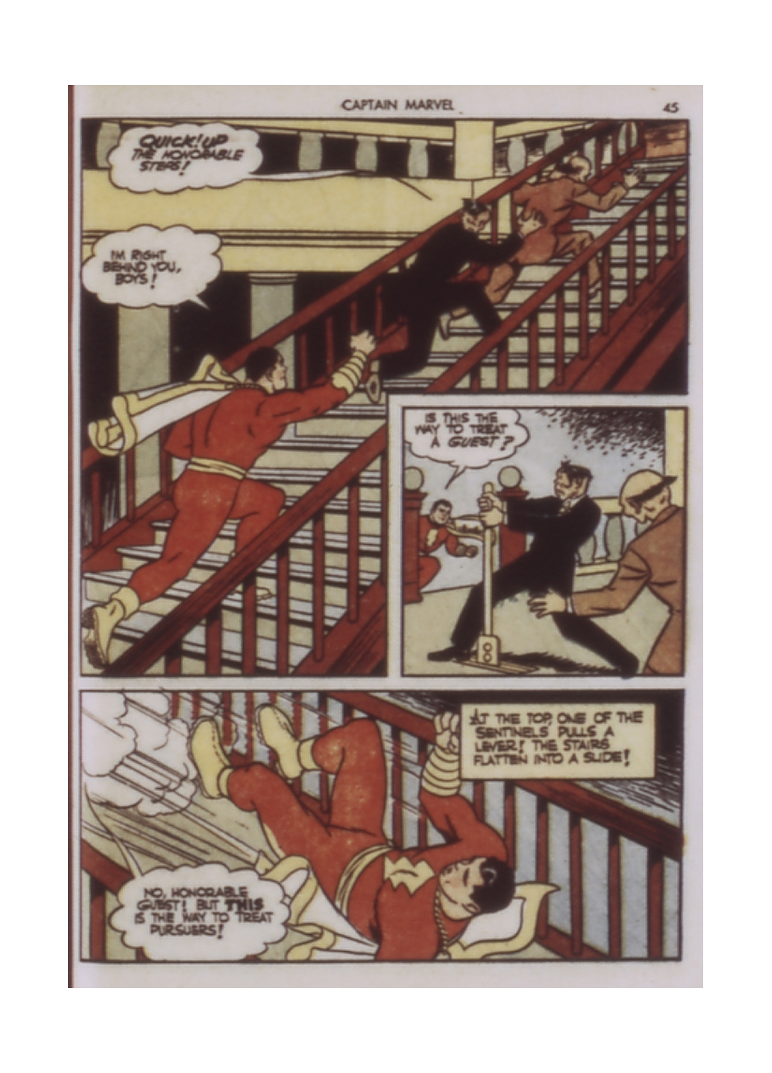 Captain Marvel Adventures issue 9 - Page 45