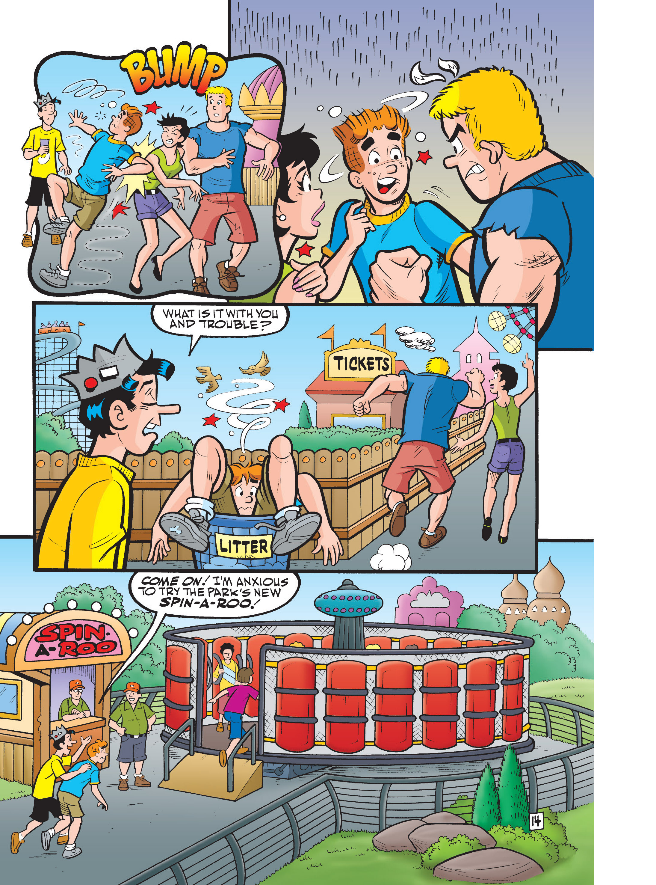 Read online Archie 75th Anniversary Digest comic -  Issue #1 - 182