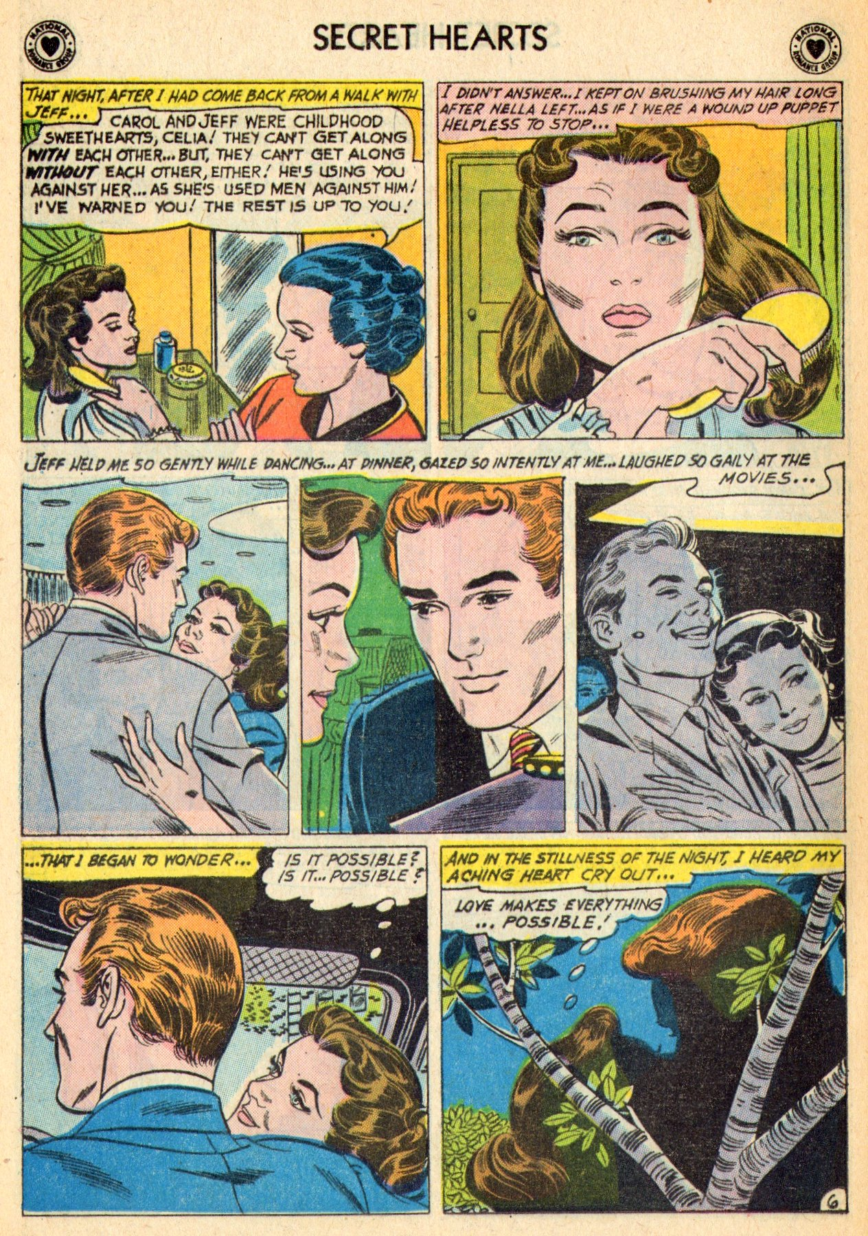 Read online Secret Hearts comic -  Issue #70 - 32