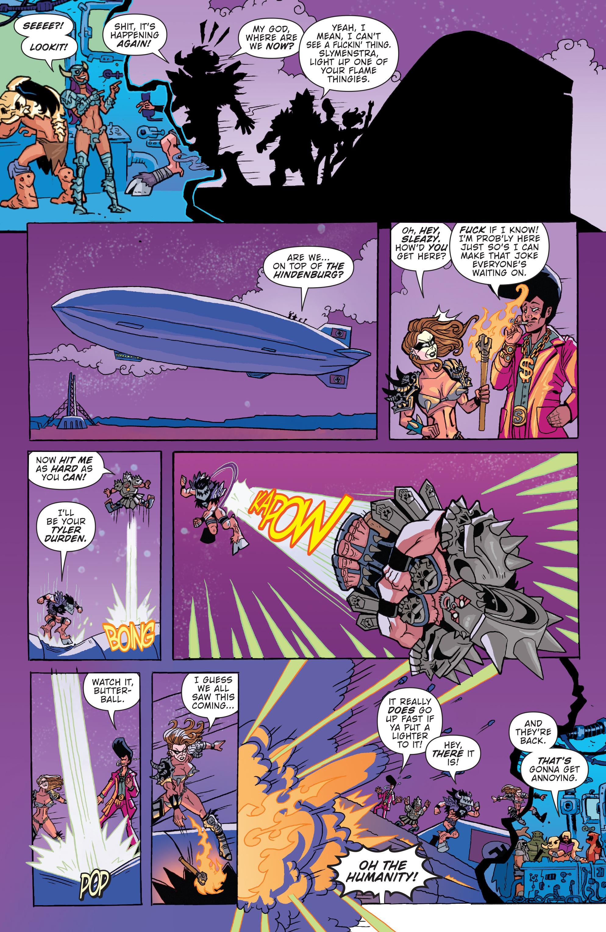 Read online Gwar: Orgasmageddon comic -  Issue #1 - 16