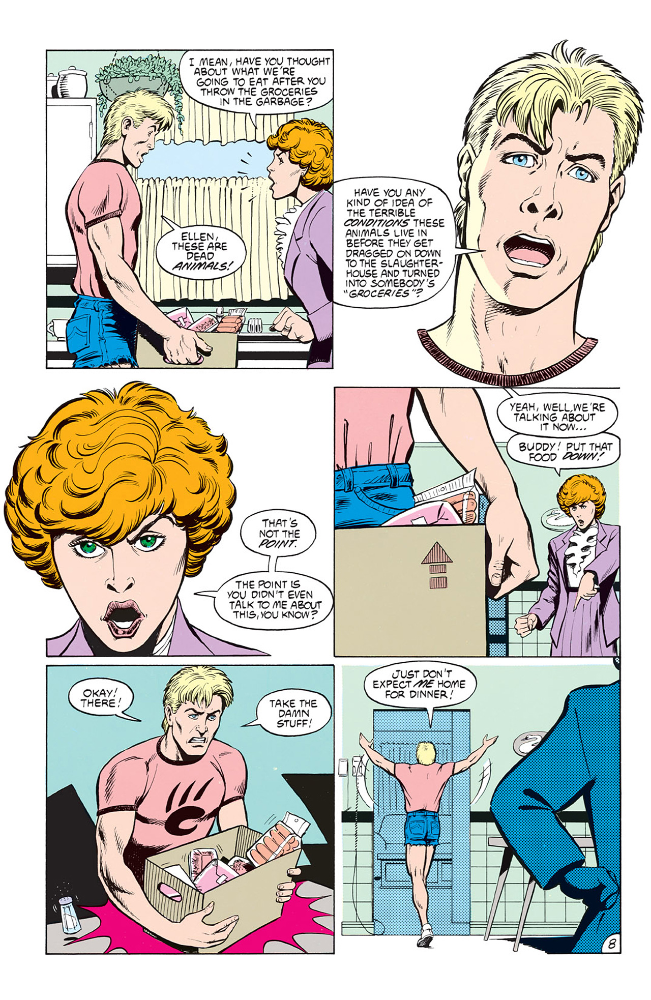 Read online Animal Man (1988) comic -  Issue #5 - 10