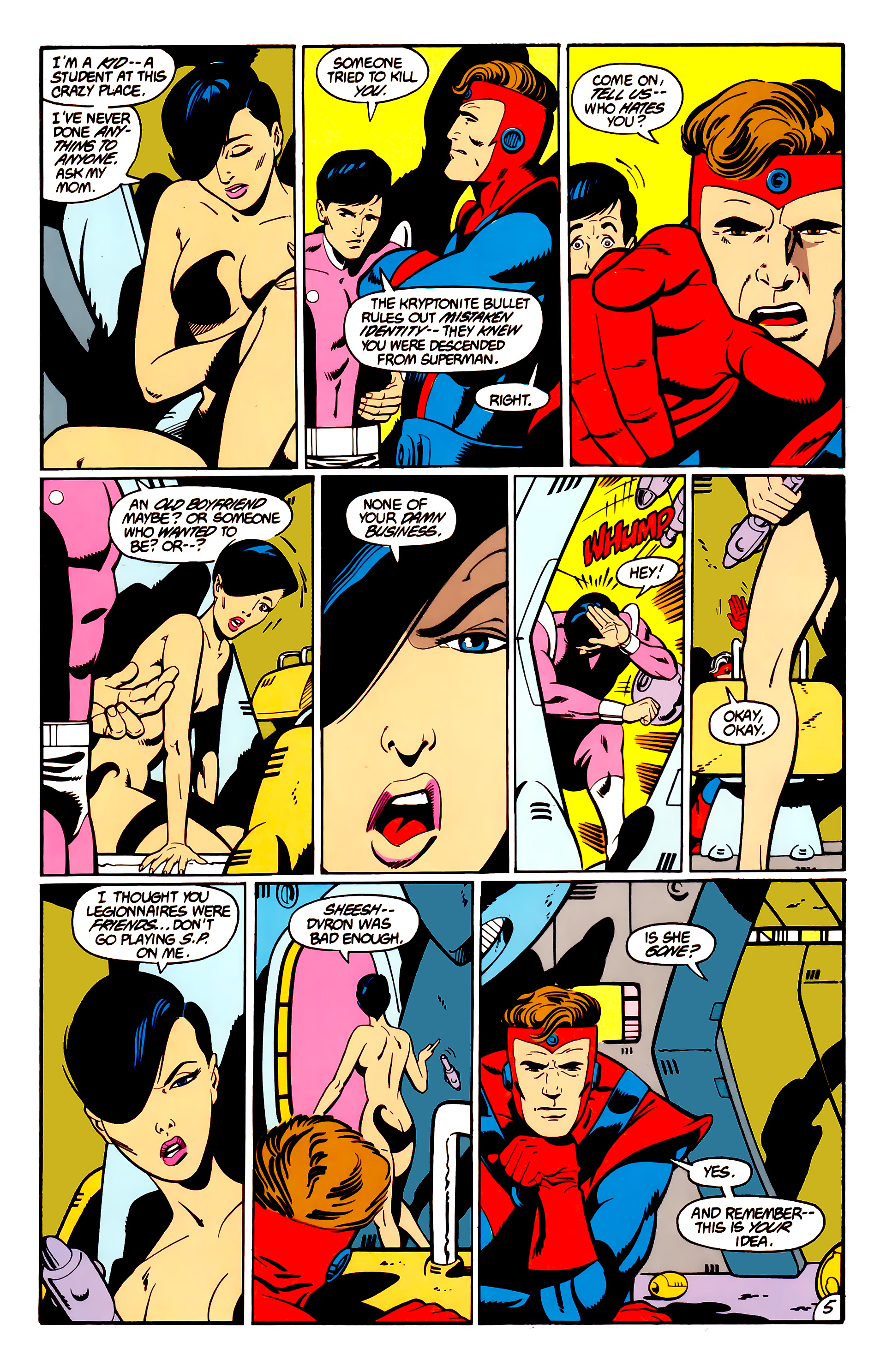 Legion of Super-Heroes (1984) _Annual_1 Page 6