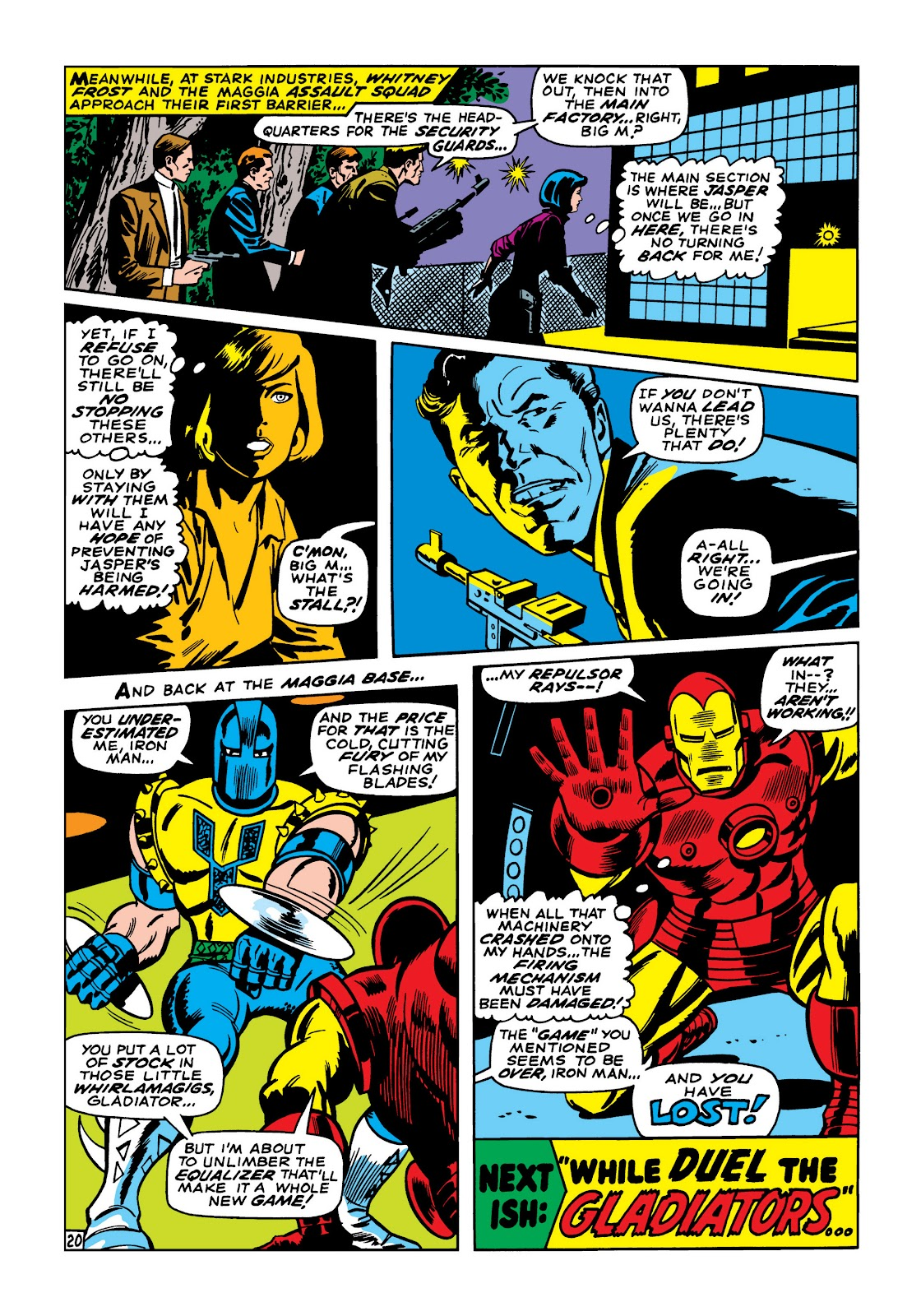 Read online Marvel Masterworks: The Invincible Iron Man comic -  Issue # TPB 5 (Part 2) - 32