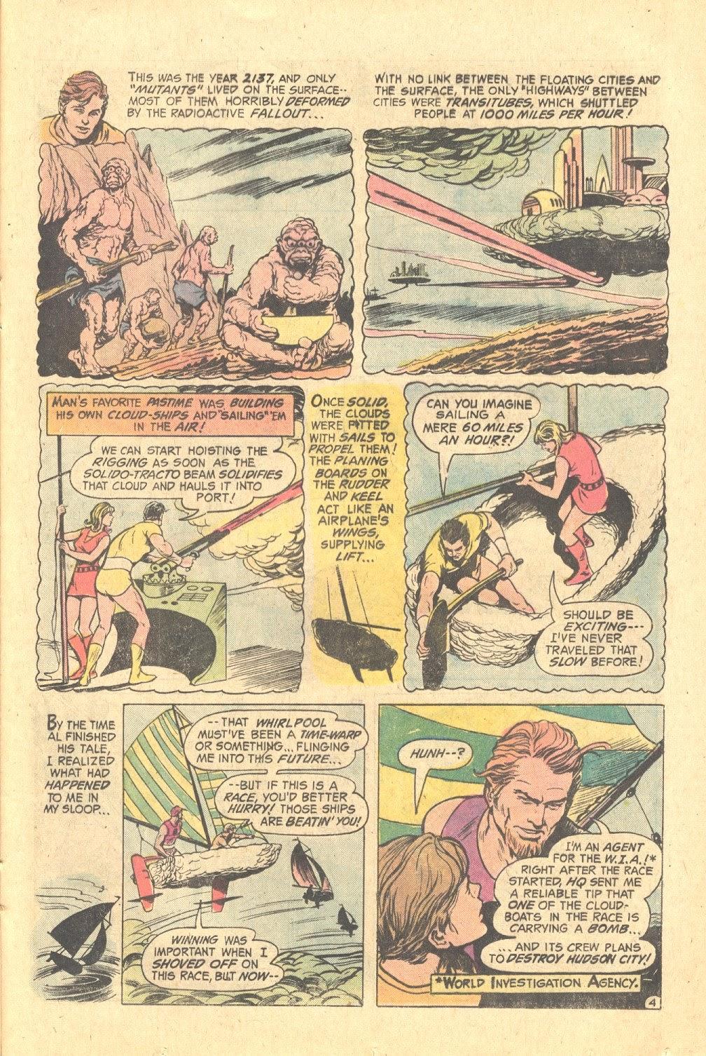 Read online Strange Sports Stories (1973) comic -  Issue #6 - 17