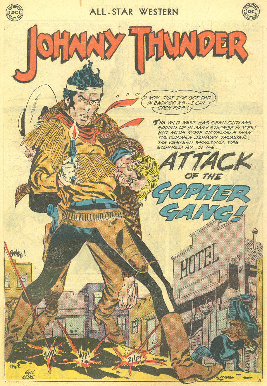 Read online All-Star Western (1951) comic -  Issue #95 - 11