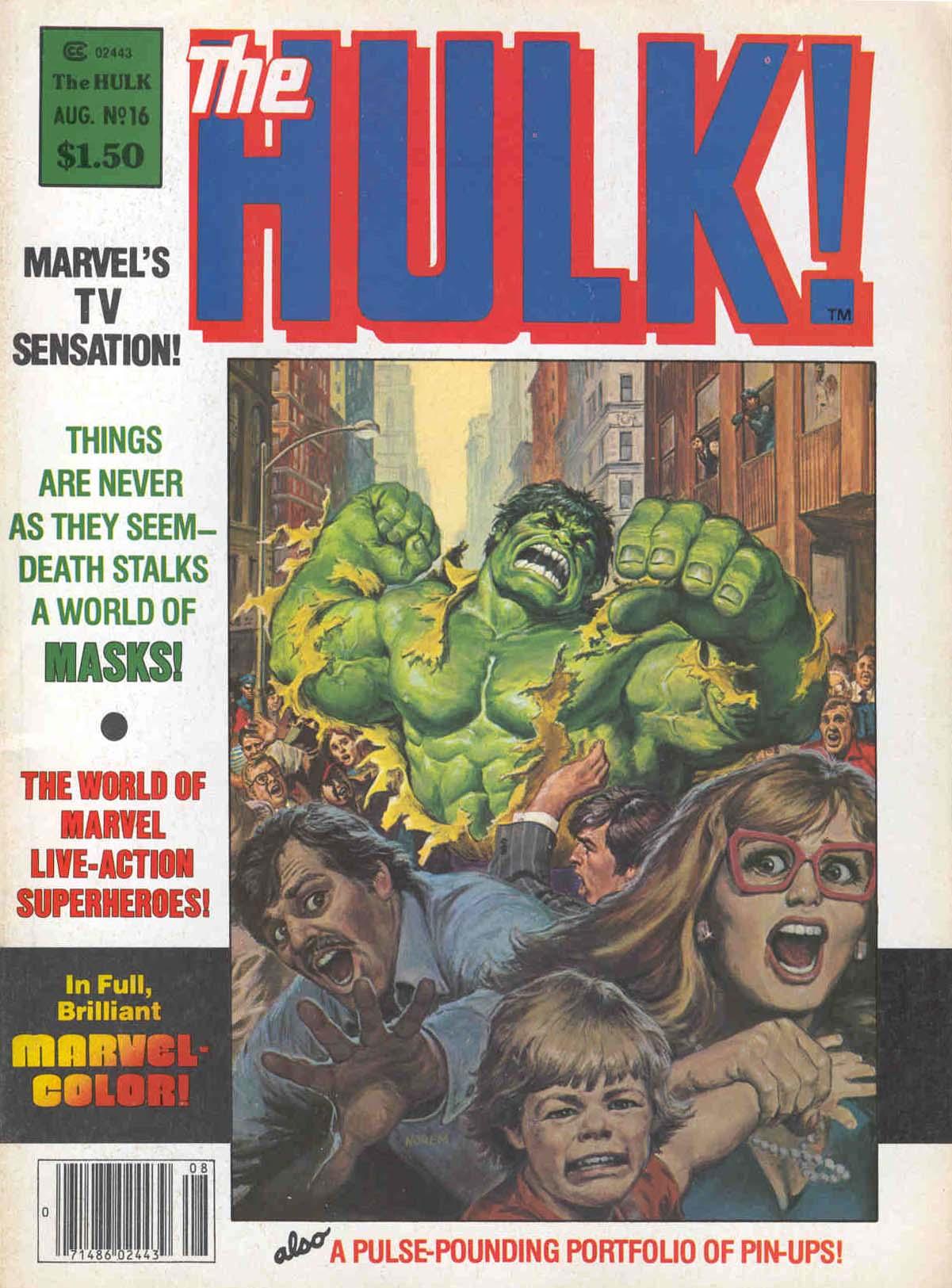 Hulk (1978) 16 Page 1