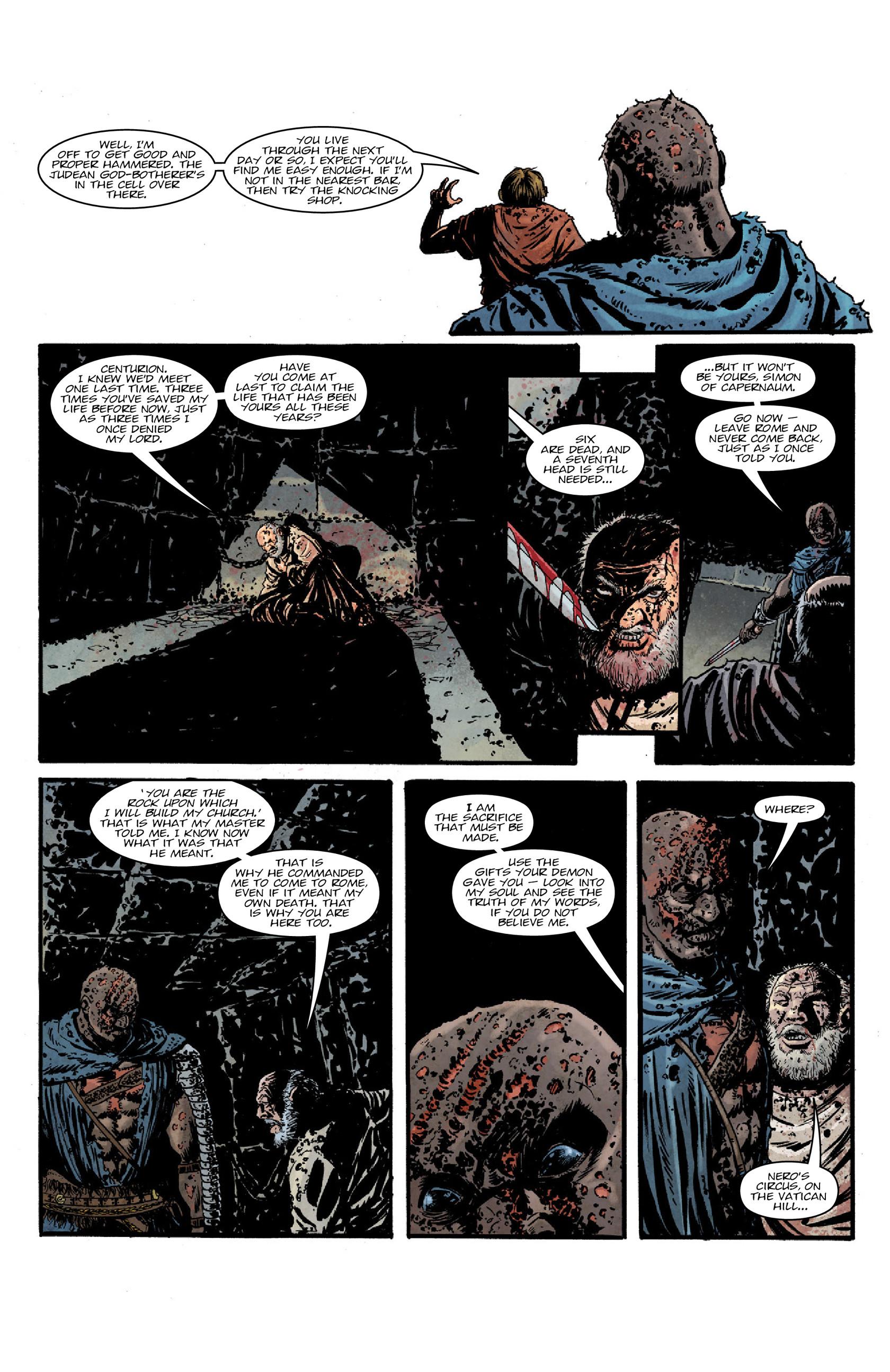 Read online Aquila comic -  Issue #5 - 21