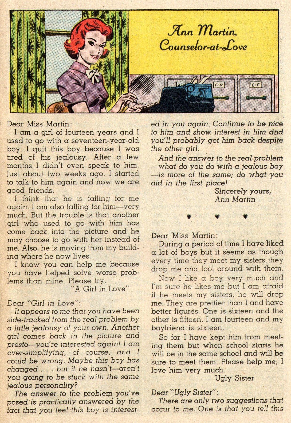 Read online Secret Hearts comic -  Issue #95 - 25