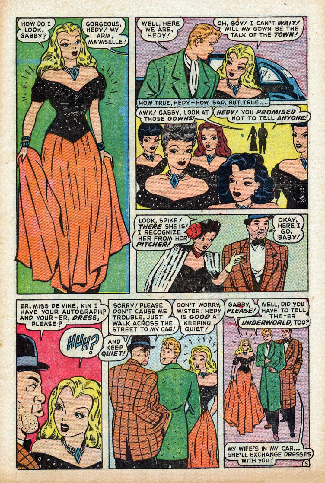 Read online Comedy Comics (1948) comic -  Issue #3 - 7