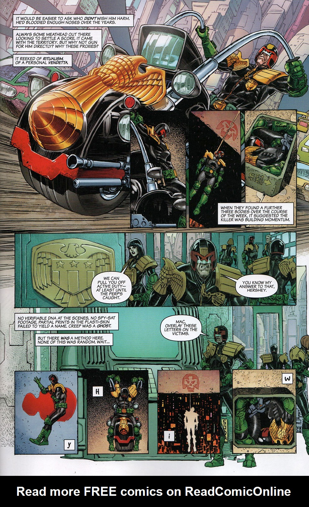 Read online Free Comic Book Day 2017 comic -  Issue # 2000 AD prog - 5