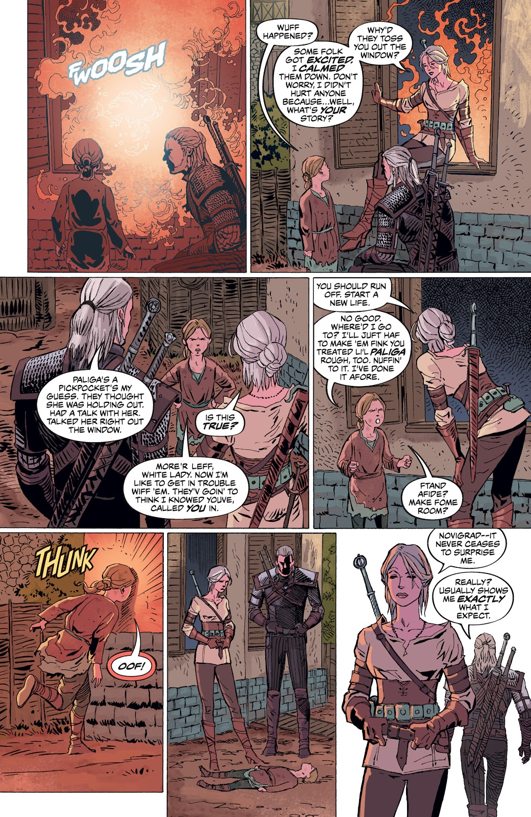 Read online The Witcher Omnibus comic -  Issue # TPB (Part 4) - 35