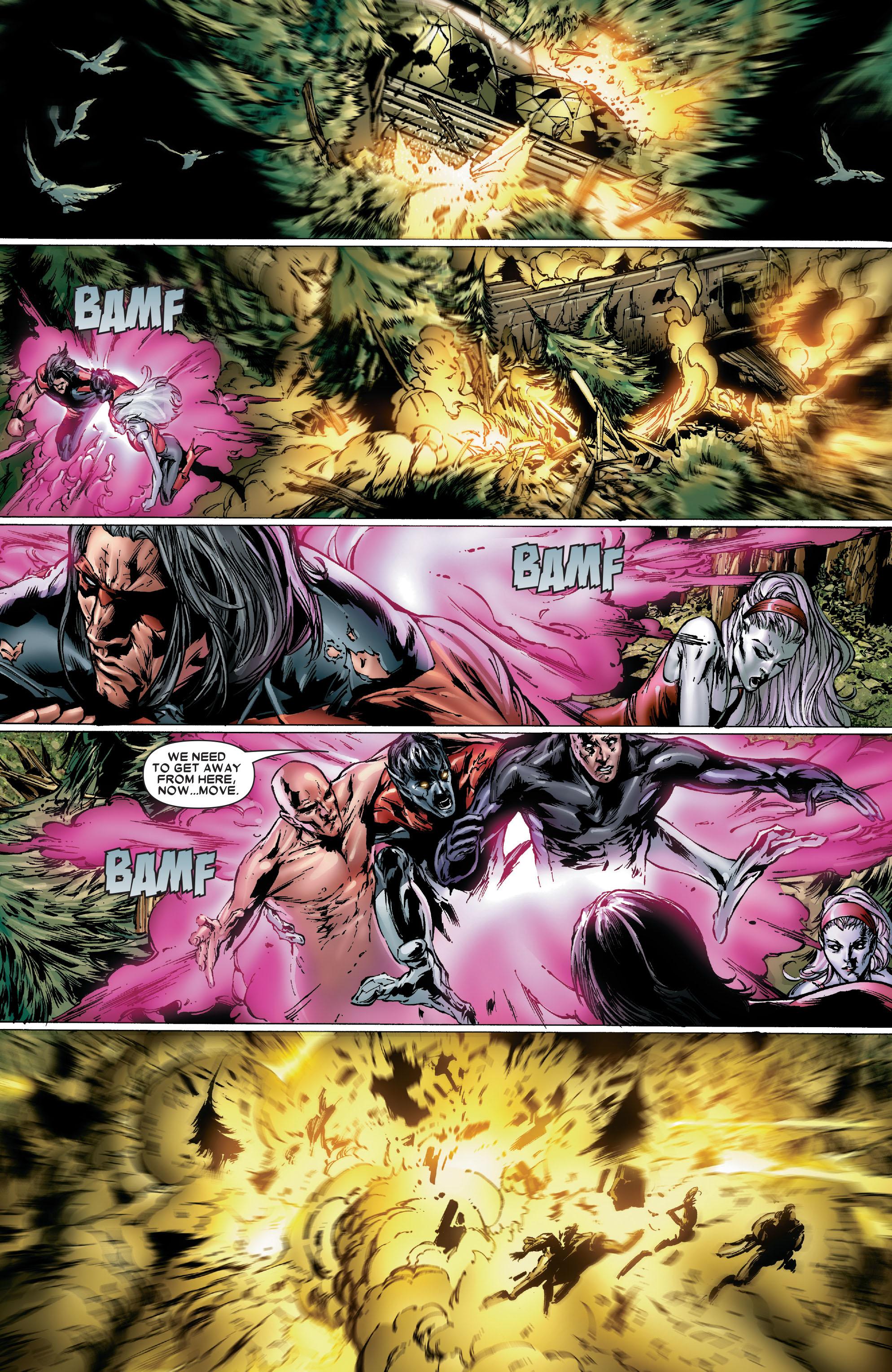 Read online Uncanny X-Men (1963) comic -  Issue #486 - 21