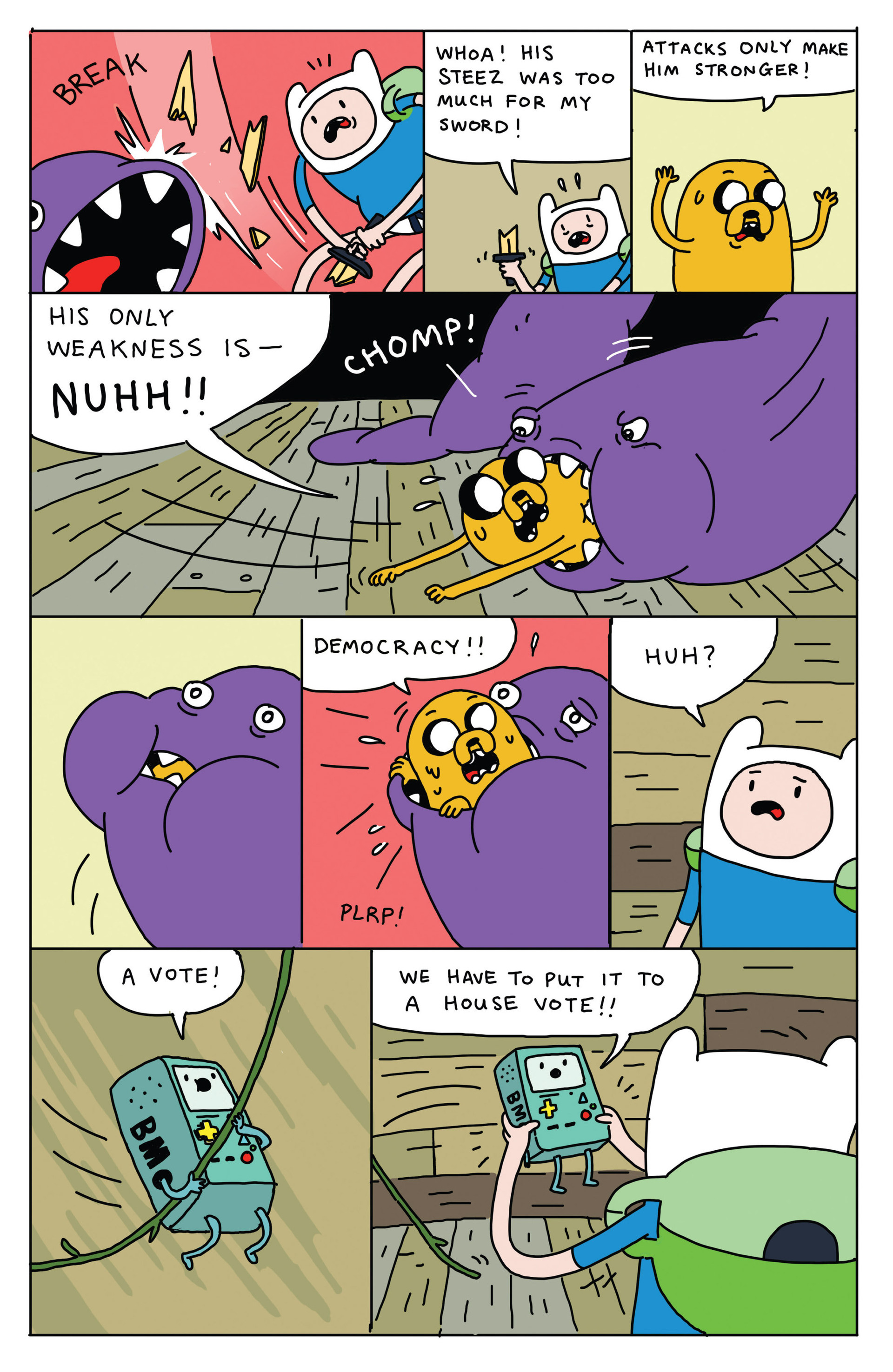 Read online Adventure Time 2013 Summer Special comic -  Issue #Adventure Time 2013 Summer Special Full - 18