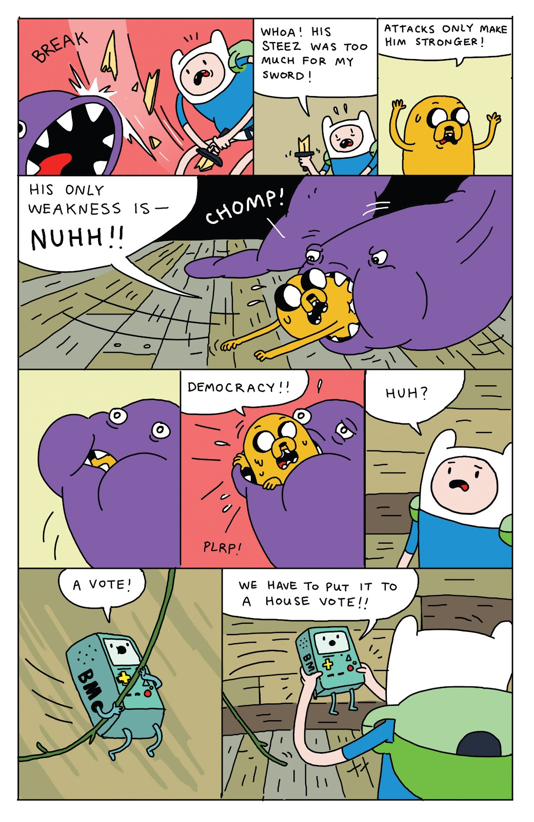Adventure Time 2013 Summer Special issue Full - Page 18