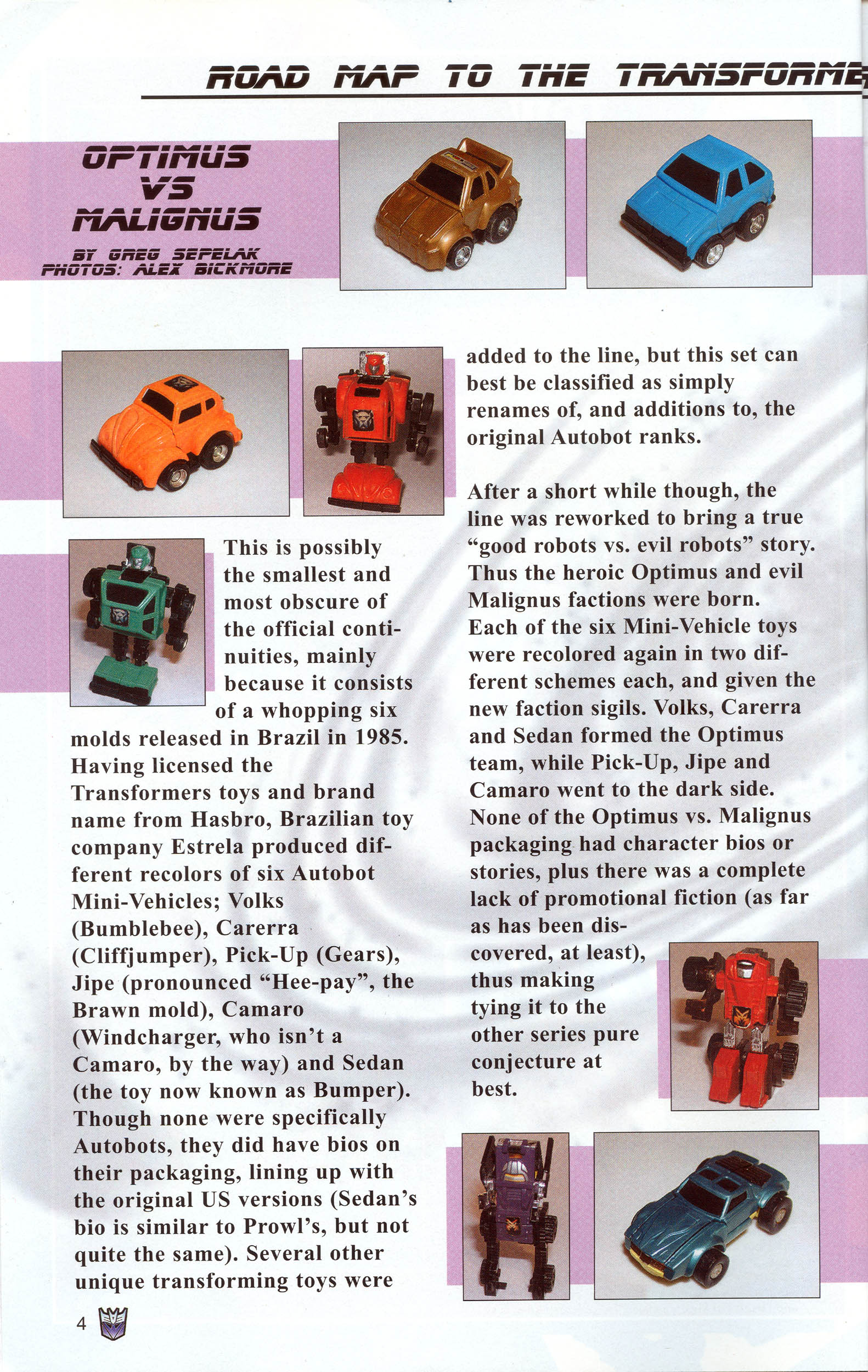 Read online Transformers: Collectors' Club comic -  Issue #10 - 4