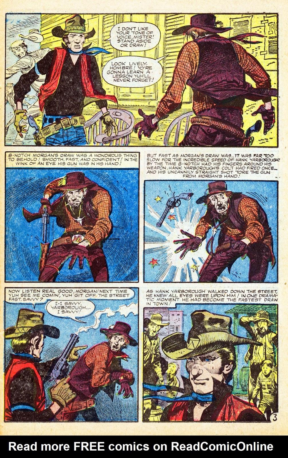 Gunsmoke Western issue 37 - Page 23
