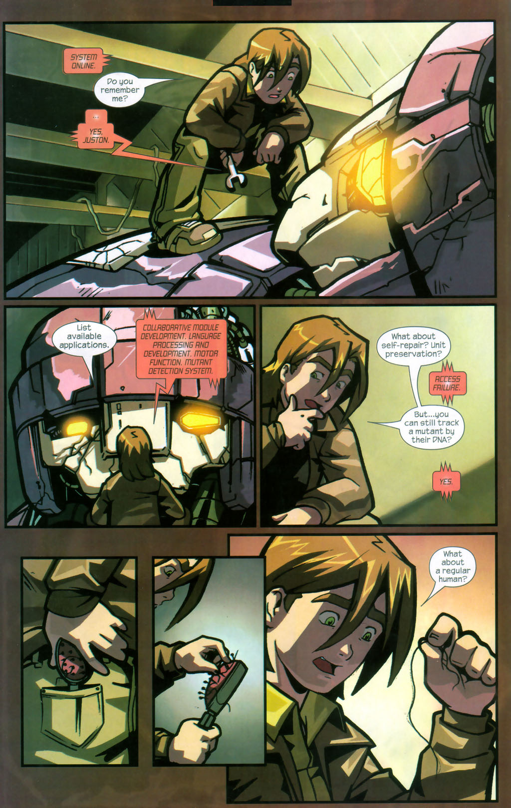 Read online Sentinel comic -  Issue #12 - 21